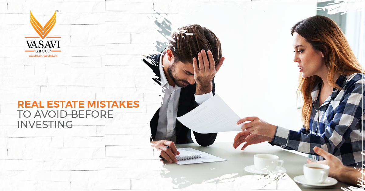 Real estate mistakes to avoid before investing