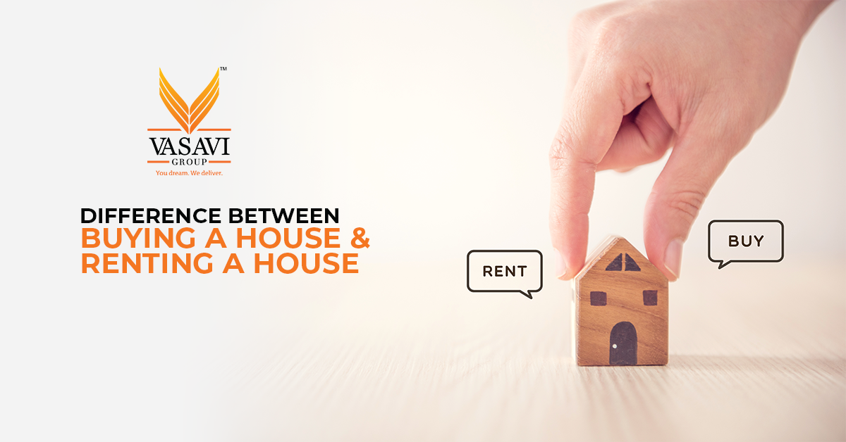 difference between buying a house and renting a house