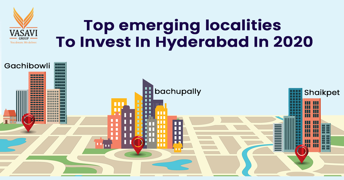 top emerging localities